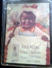 Wandschild Eisen Blech Werbung Golmedaille Atlanta Nashville Vintage Wand Deko