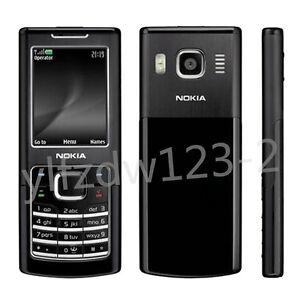 Original Unlocked Nokia 6500C 6500 Classic Black GSM Bluetooth Mobile Bar Phone