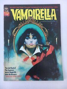 1972 VAMPIRELLA Magazine #18 with Dracula - Fine
