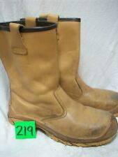SIZE 9 UPower Non Metallic brown Rigger Boots same leather as JALLATTE JALASKA
