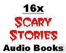16x Scary Horror Halloween Stories Audio Books on 8x CDs Pack Lot Bulk NEW