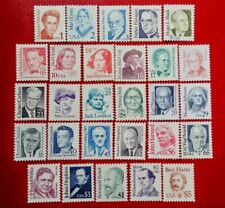 1986-1994 US Stamp SC#2168-2196 Great American Series Complete Set
