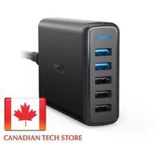 Anker Quick Charge 3.0 USB Wall Charger PowerPort Speed 5 63W PowerIQ 5-Port