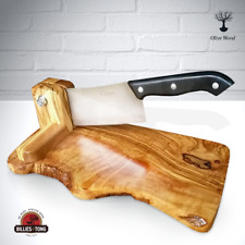 Olive Wood Biltong Slicer Jerky Salami South Africa Braai BBQ Vegetable Cutter