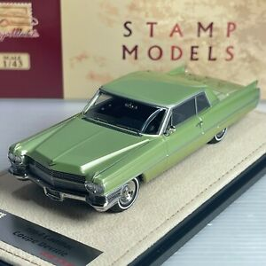 1/43 GLM Stamp Cadillac Coupe Deville 1964 Lime Metallic STM64602