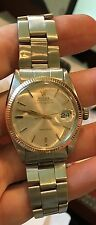 Rolex Vintage Air-King Date 5700 Stainless/Gold Circa 1960's Silver dial Oyster