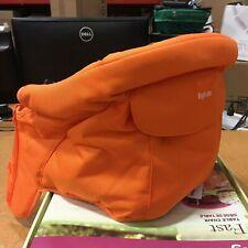 Inglesina Baby Toddler Fast Hook-On Table Orange Chair Seat