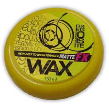 2 X FixEgoiste FX Hair Wax Strong Hold Matte Hair Styling Wax150ml YELLOW PCK 2