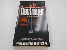 The Destroyer #73: Line Of Succession by Warren Murphy (1988,USA) 1st Signet