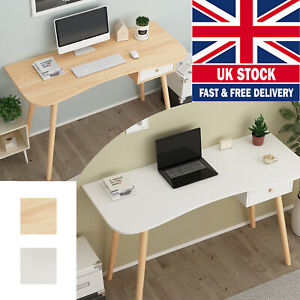 120CM Computer Study Desk PC Laptop Worksation White Dressing Table Home Office