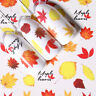 5 Sheets Nagel Wasser Transfer Aufkleber Abziehbilder Ahorn Blatt Nail Stickers
