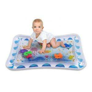 Large Inflatable Water Play Mat for infants Fun in water Tummy time Activity Pad