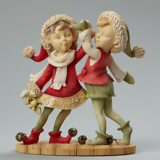Enesco/The Heart of Christmas by Karen Hahn Elves Dancing Nib #4046835