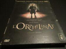 """COFFRET COLLECTOR 2 DVD """"L'ORPHELINAT"""" film d""""horreur Espagnol de J.A. BAYONA"""