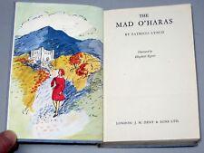 The MAD O'HARAS - Patricia Lynch 1948 1st Ed) Illustrated Irish children's novel