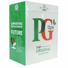 PG Tips Pirámide Bolsitas De Té Paquete De 240-Entrega Gratuita