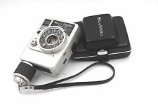 Vintage Bell & Howell Dial 35 Half Frame 35mm Camera with Case Canon 28mm Lens
