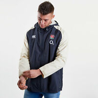 Canterbury Mens England 2018/19 Players Full Zip All Weather Rugby Jacket Grey
