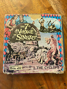 The 7th Voyage of Sinbad #1 The Cyclops 8mm Film Columbia Pictures SB1 in Box