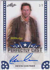 "2016 POP CENTURY PERFECTLY CAST AUTO: KEVIN COSTNER #1/7 AUTOGRAPH ""CRASH DAVIS"""