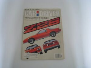 Vintage Car and Driver Magazine - January 1982,Third Gen Camaro Z28 Launch