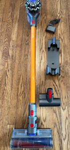 Dyson V8 Cordless Stick Vacuum Cleaner (Yellow) + Brand New Pre-Filter
