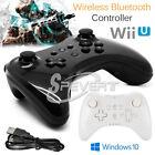 Wireless Bluetooth Remote Joypad U Pro Controller Gamepad for PC Nintendo Wii U
