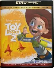 DISNEY PIXAR TOY STORY 2 4K ULTRA HD BLU RAY 2 DISC SET FREE WORLD WIDE SHIPPING