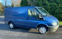 FORD TRANSIT VAN 2.0 100 BHP SWB T280 2006 06 RARE TOP SPEC MK6 IN BLUE NO VAT