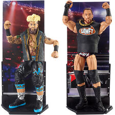Package Deal - WWE Elite 49 - Enzo Amore & Big Cass Mattel Toy Action Figures