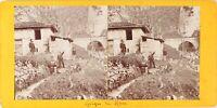 FRANCE Cuise-la-Motte Gorge du Han Photo Stereo Vintage Citrate PL62L11 n2