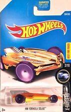 NUOVO Hot Wheels 2017 HW FORMULA solare (arancione) Caso P #304