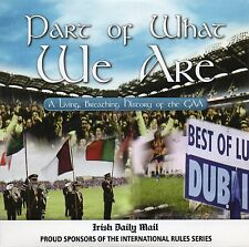 GAA DVD - PART OF WHAT WE ARE - A LIVING BREATHING HISTORY OF THE GAA - IRELAND