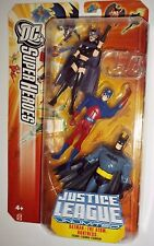 JUSTICE LEAGUE Unlimited HUNTRESS ATOM ray palmer BATMAN 3 pack dc universe