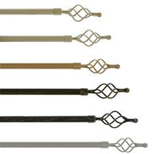 Bastone per tenda in ferro estensibile da 120 a 210 cm - Torciglione L843