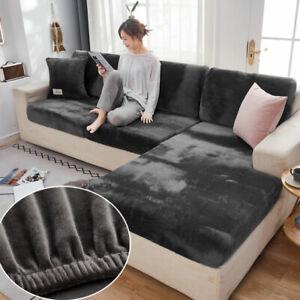 Thick Sofa Cushion Cover Elastic Furniture Protector Sofa Seat Cushion Slipcover