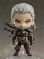 "The Witcher 3:Wild Hun Geralt of Rivia 4"" PVC Q Ver. Figure Model Toy Collection"