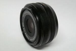 Fujifilm Fujinon XF 18 mm / 2,0   Objektiv defekt Wasserschaden