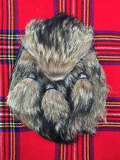 hommes écossais KILT SPORRAN FOX FOURRURE / BOUCHE / Cantle