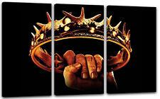 deko bilder drucke mit game of thrones auf leinwand g nstig kaufen ebay. Black Bedroom Furniture Sets. Home Design Ideas