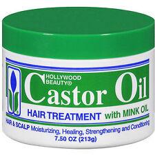 Hollywood Beauty Castor Oil Hair Treatment With Mink Oil 7.5 Oz