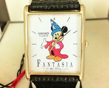 New Hard to Find Seiko Mickey Mouse Fantasia Sorcerer Watch SXZ786  5Y91-5089