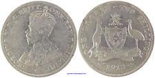 AUSTRALIA , GEORGES V , FLORIN PLATA 1913 RARO