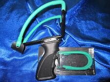 Zwille Slingshot Ersatzgummi für Sportschleuder 30cm Doppel Theraband Blau