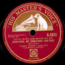 TOMMY DORSEY & HIS CLAMBAKE SEVEN Chinatown, my.../the sheik of Araby x1487