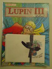 """Lupin III a colori - Japan Book N.1 Blisterato con gadget """"Inter mia sirena..."""""""