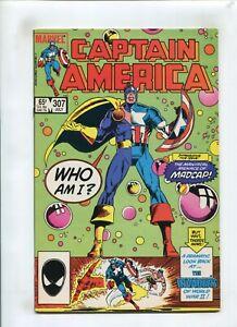 CAPTAIN AMERICA #307 (NM-) WHO AM I? MADCAP 1985