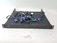 Avocent DSR8035 32 Port KVM Over IP Console Switch w/ Rack Ears & 6 DSRIQ-PS2