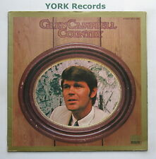 GLEN CAMPBELL - Glen Campbell Country - Ex Con LP Record Gold Edge GOLD 004