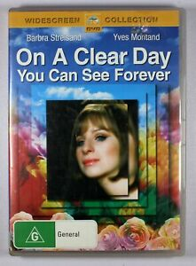 On A Clear Day You Can See Forever DVD FREE POST